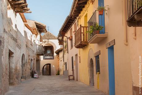 Peñarroya de Tastavins viaje escapada Matarraña calles turismo