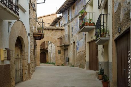 Ráfales Teruel viaje comarca del Matarraña