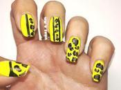 Diseño uñas flúor animal print
