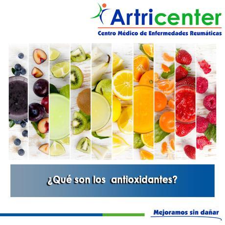 Artricenter:  ¿Qué son los antioxidantes?