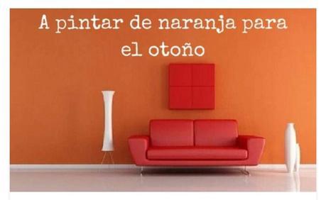 - El naranja para Otoño.