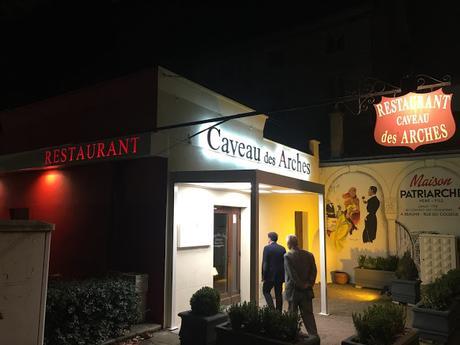 Restaurante Caveau des Arches, en Beaune (Francia)