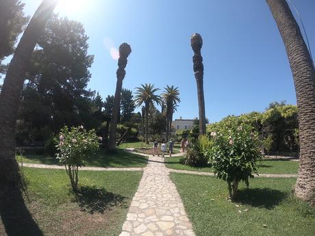Dia 4, Palacio Achilleion