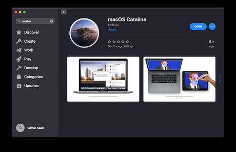 Cómo crear una unidad flash USB de arranque macOS Catalina