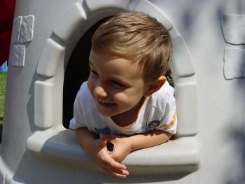 El juego simbólico: casitas y rincones para niños