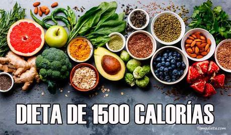 menu de 1500 calorias pdf