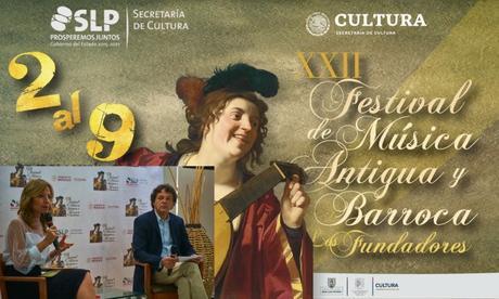 Presentan el XXII Festival de Música Antigua y Barroca