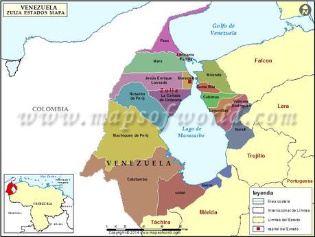 Resultado de imagen para Estado Zulia