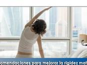 Artricenter: Recomendaciones para mejorar rigidez matinal pacientes enfermedades reumáticas