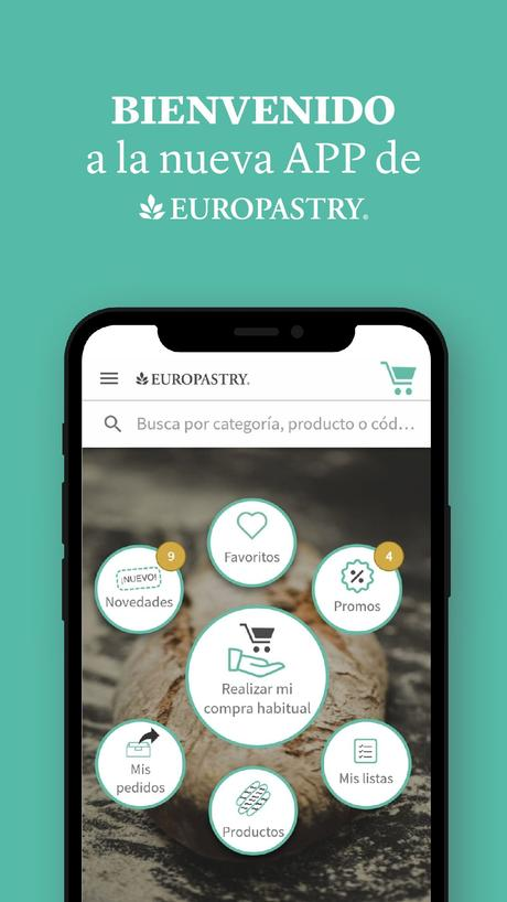 Europastry lanza una innovadora App más rápida y práctica para sus clientes