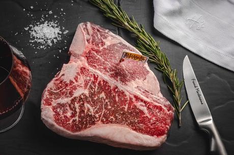 Un buen ejemplo en la web, Harry's Restaurante de carne