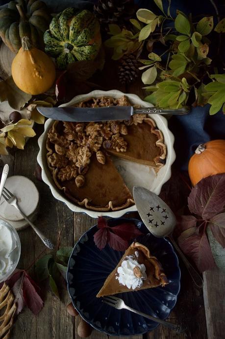 Pumpkin pie, el típico pastel de calabaza americano que no puede faltar este otoño #Asaltablogs {Mes Petits Accidents}