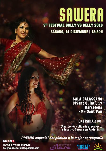 9º Festival solidario Sawera, Bolly vs Belly 2019