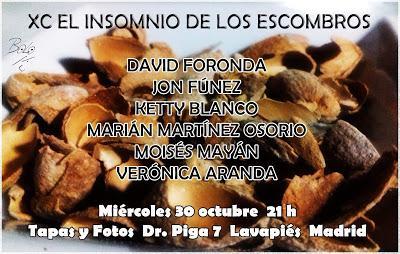 Recitales en Madrid, otoño 2019