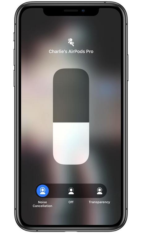 Cómo cambiar rápidamente los modos de cancelación de ruido en AirPods Pro