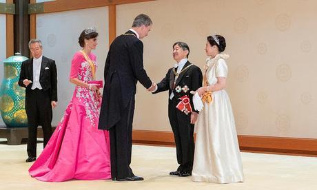 Japón: Entronización del Emperador Naruhito