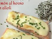 Salmón Horno Alioli