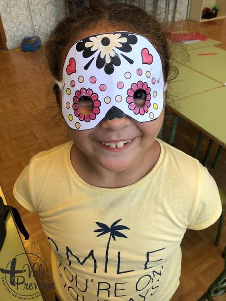 mascara catrina halloween