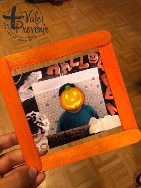 marco de fotos halloween