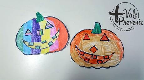 manualidades calabaza halloween