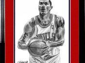 Pinturas Derrick Rose