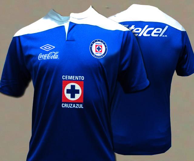 Podr  A Ser La Nueva Camiseta Umbro Del Cruz Azul  Temporada 2011 2012