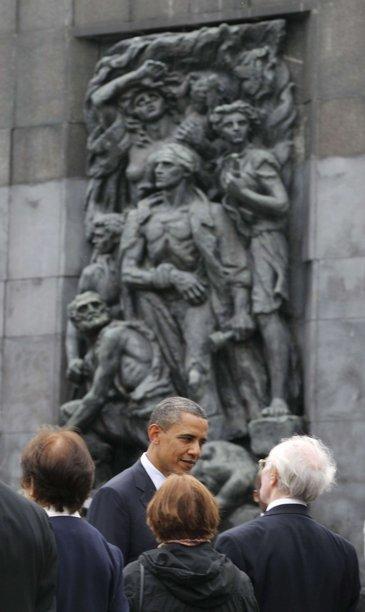 Obama en Polonia