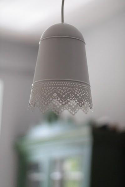 Ikea hack una l mpara con un macetero colgante paperblog - Maceteros colgantes ikea ...