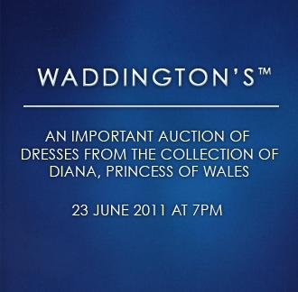 Waddington's - An Important Auction of Dresses from the Collection of Diana, Princess of Wales.