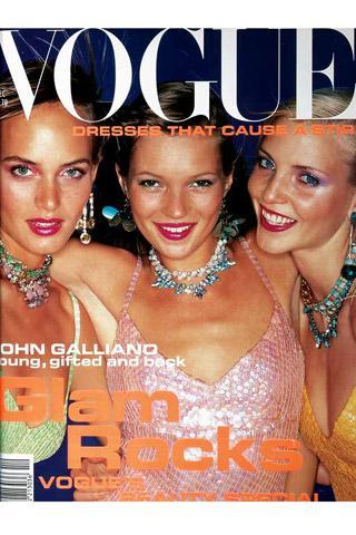 A COVER GIRL CALLED KATE MOSS