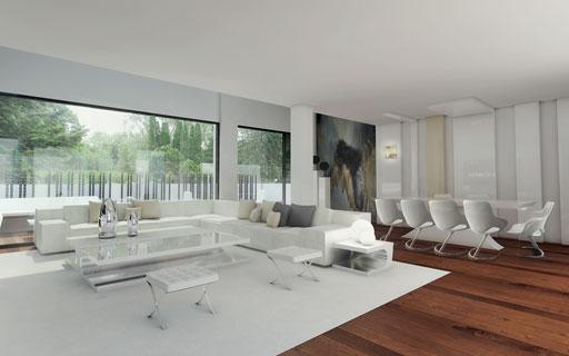 A cero realiza un proyecto de interiorismo en un for Decoracion monoambiente 30m2