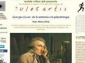 """Artículo: """"Georges Cuvier: anatomía paleontología"""""""