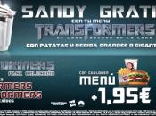primeras entregas Transformers Burger King