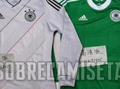 filtran nuevas camisetas Adidas Alemania para Eurocopa 2012