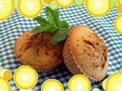 Muffins menta limón semillas amapola