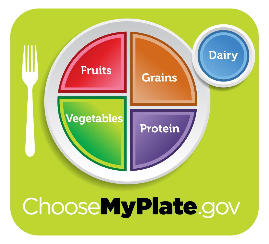 My Plate: nueva guía alimenticia de Estados Unidos