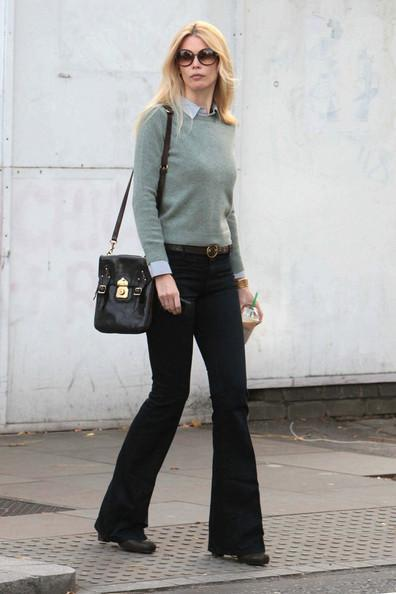 Claudia Schiffer - Claudia Schiffer in West London