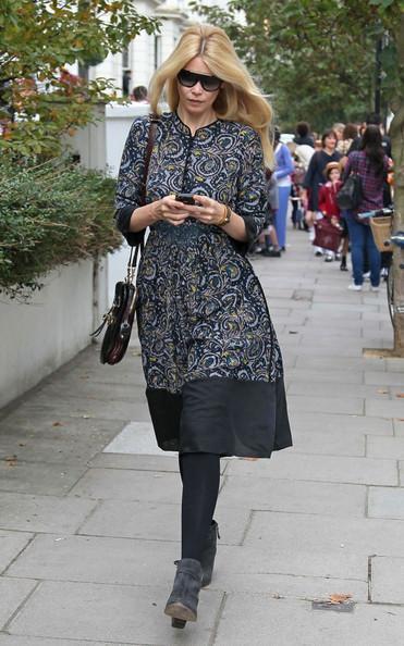 Claudia Schiffer - Claudia Schiffer Walks with a Friend