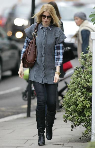 Claudia Schiffer - Claudia Schiffer in London