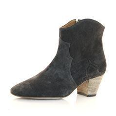 Isabel Marant Forbes Suede Ankle Boots Profile Photo