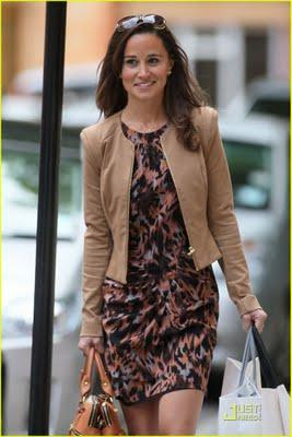 Pippa Middleton goes shopping...