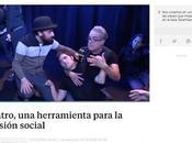 Madrid directo tele sala Tarambana escuela teatro inclusivo, manu medina