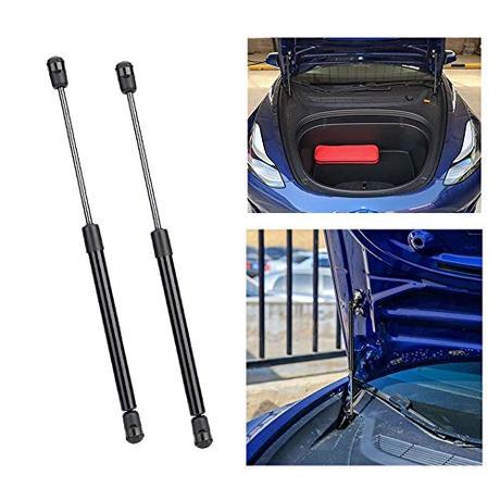 Hamkaw Accesorio Tesla Model 3 Accesorio Automático De Elevación del Maletero Tesla Model 3 Soporte De Elevación del Capó del Puntal del Maletero Trasero, Juego De 2