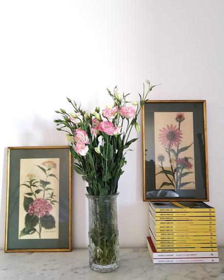 Rincones: Libros y flores (I)