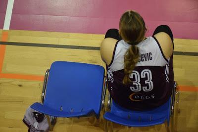 Galería de emociones del Bàsquet Femení Sant Adrià-GEiEG Uni Girona (Liga Femenina 2)