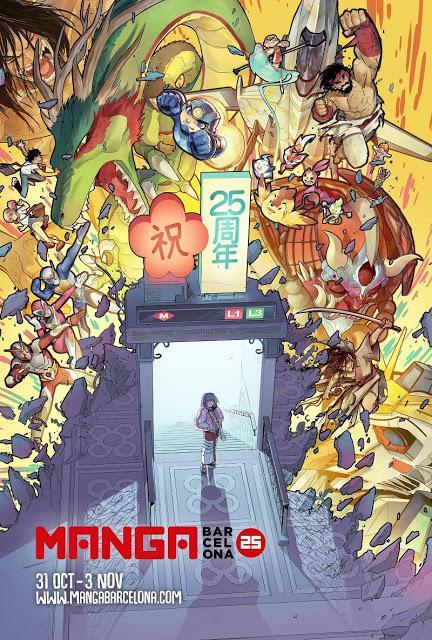 Más de 152.000 visitantes disfrutan del 25 Manga Barcelona
