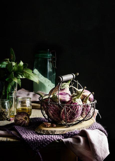 Composición en fotografía culinaria. La diagonal