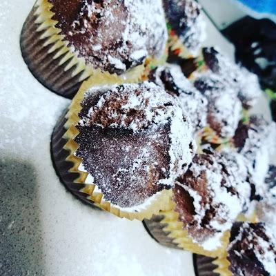 Un día de furia (magdalenas de cacao)
