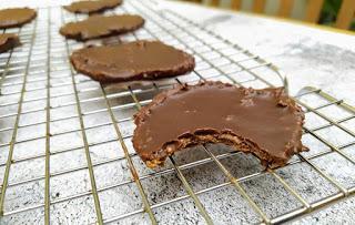 Cookies de calabaza y chocolate - Veganas, sin gluten, sin frutos secos