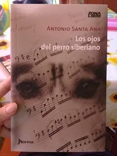 Reseña: Los ojos del perro siberiano de Antonio Santa Ana